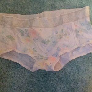 New pink Victoria's secret floral panty
